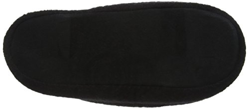 Woolsies Herren Yosa Natural Wool Mule Hausschuhe Schwarz (Schwarz)