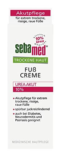 Sebamed Trockene Haut Urea 10% Fusscreme, 2er Pack (2 x 100 ml)