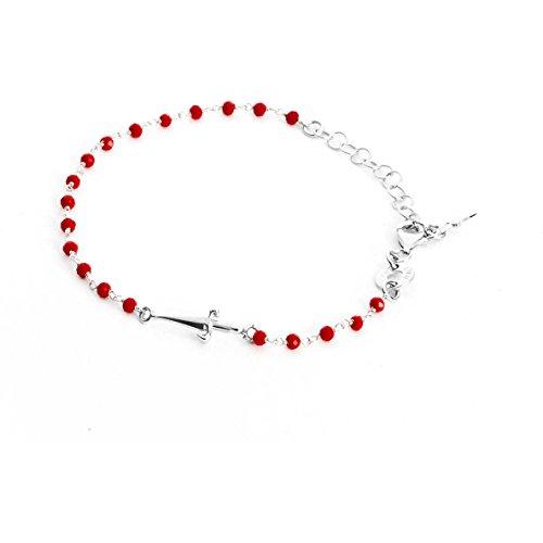 cesare-paciotti-jewels-bracelet-ornament-unisex-silver-red-jpbr1120b