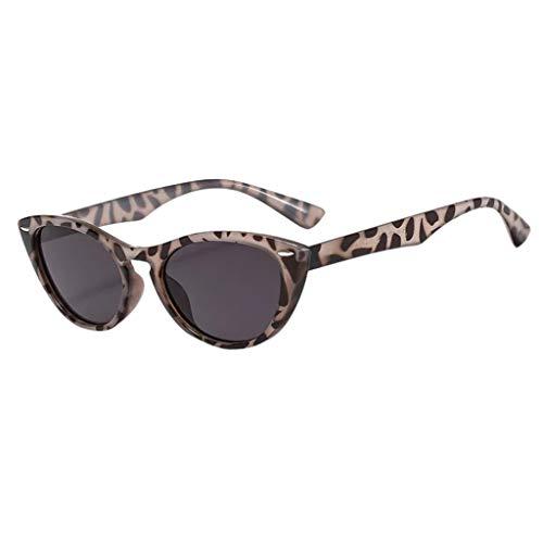 SuperSU Unisex Sommer Sonnenbrillen Vintage Brillen Mode Klassische Katzenauge Sportsonnenbrille Mehrfarbig Leopard Brille Brillenfassung in verschiedenen Farben Sonnenbrillen