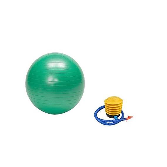 DeoDap Sports & Fitness Anti-Burst Gym Ball with Pump 45 cm, 65 cm and 75 cm