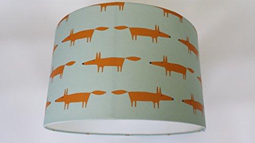 lampara-fabricada-en-little-fox-spirit-soul-scion-papel-pintado-de-azul-de-arlequin-plastico-naranja