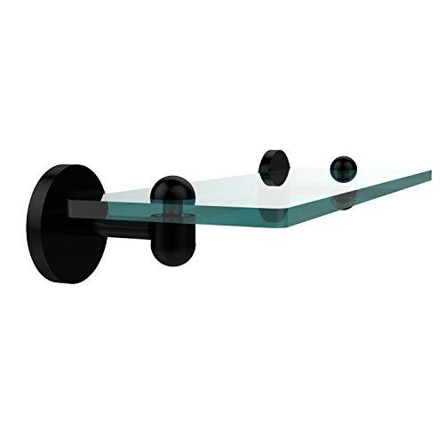 Allied Glass Badezimmer Regal (Allied Brass TA-1/16-BKM 16-Inch Single Glass Shelf by Allied Brass)