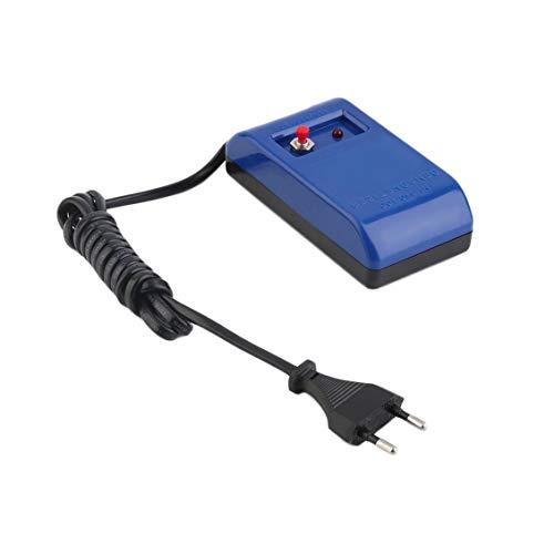 Prima05Sally Tragbare langlebige Uhr Werkzeuge Schraubendreher und Pinzette Entmagnetisierer Elektrisch Entmagnetisieren Reparatursatz Werkzeug US-Stecker