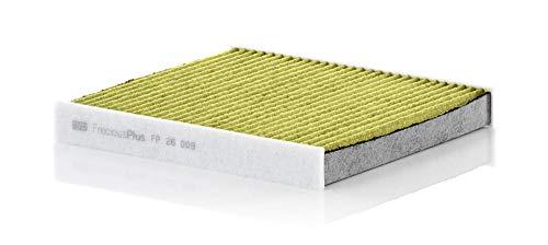 MANN-FILTER FP26009-MAN Original Innenraumluftfilter FP 26 009 - FreciousPlus Biofunktionaler Pollenfilter - Für PKW