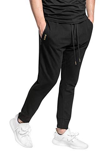 Schwarz mit Reißverschluss an den Taschen, M) ()