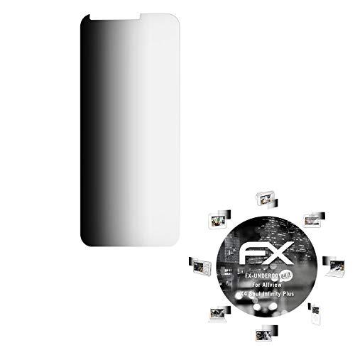 atFolix Blickschutzfilter für Allview X4 Soul Infinity Plus Blickschutzfolie, 4-Wege Sichtschutz FX Schutzfolie