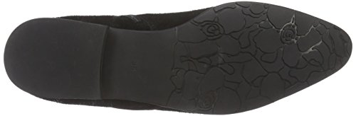 Giudecca Jy1523-1, Bottes de motard courtes, doublure froide femme Noir - Noir