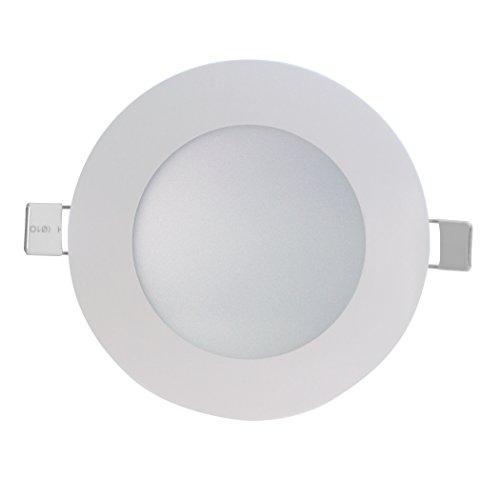 SevenOn LED 64534 Pack de 3 downlight LED SMD extraplano redondo, blanco...