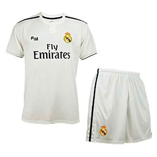 Kit Infantil Real Madrid Réplica Oficial Licenciado de la 1ª Equipación  Temporada 2018-19 Sin acc9d0145