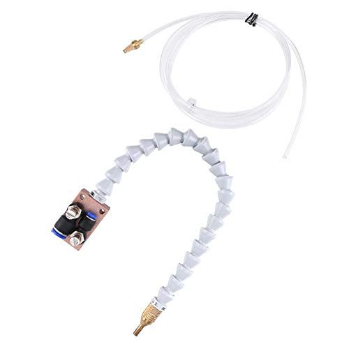 Kühlsprühgerät, Nebelkühlschmiersystem Spray für 8mm Luftrohr CNC Drehmaschine Mühle Maschine SG -