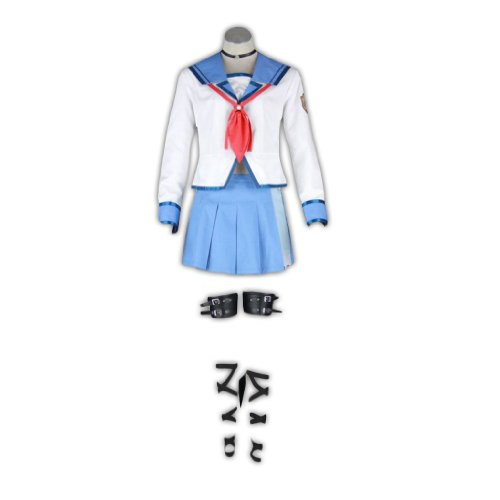 Dream2Reality Angel Beats Cosplay Kostuem -Iwasawa Asami 1st Ver (Angel Beats Cosplay Kostüme)
