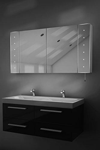 Karma LED-beleuchteter Batterie Badezimmer Spiegelschrank mit Zugschnur k144 - 2