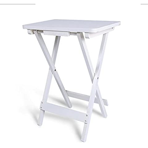 Minimalista soggiorno divano tavolo pieghevole tavolo pieghevole tavolino scrivania piazza sintesi all'aperto