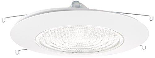 Elco Lighting EL13W 6 CFL Sloped Shower Trim with Fresnel Lens - EL13 (CFL Sloped) by Elco Lighting (Fresnel-trim)