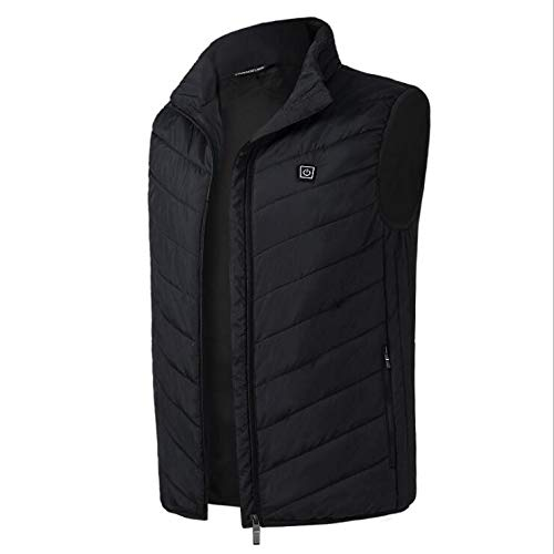 31R5337ljML. SS500  - Fibre gang Winter heating vest outdoor sports fishing graphene warm electric vest USB security intelligent constant temperature heating vest unisex