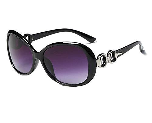 WERERT Sportbrille Sonnenbrillen Fashion Vintage Big Female Sunglasses Women Feminine Sun Glasses Women's Pixel Glasses Lens Cleaner Kit