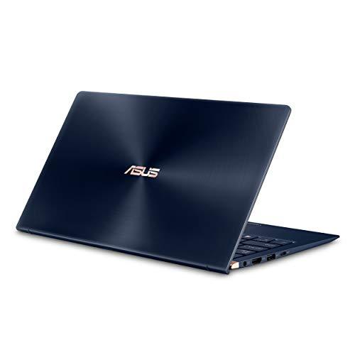 "Asus ZenBook 13 Ultra-Slim Laptop 13.3"" FHD Wideview, 8th-Gen Intel Core i7-8565U Processor, 16GB LPDDR3, 512GB PCIe SSD, Backlit KB, Numberpad, Military-Grade, Windows 10 - UX333FA-AB77 Royal Blue"
