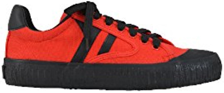 Céline Mujer 321452CPSC27RQ Rojo Tela Zapatillas  Venta de calzado deportivo de moda en línea