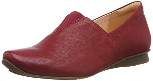 Think! Damen Chilli_484110 Espadrilles, Rot (Cherry 73), 41.5 EU