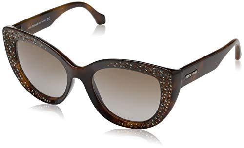 Roberto Cavalli Damen RC1050 53G 54 Sonnenbrille, Braun,