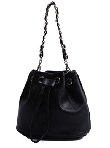 La Signora Pu Mini Bag Black
