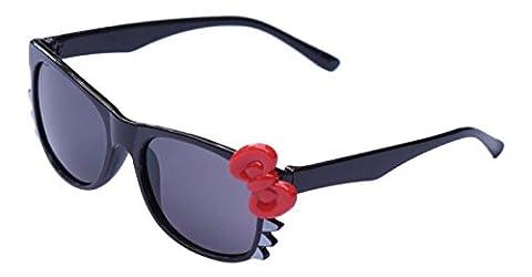 Ultra® noir avec rouge Bow mignon Multi couleur Costume Play Cos jouer lunettes 3D pour enfants kids lens Bunny coeur Bow cadres