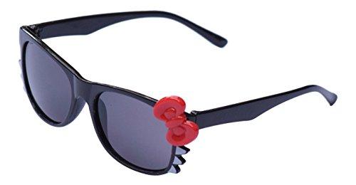 Ultra® schwarz mit roten Bogen süß Multi Color Kostüm spielen Cos spielen 3D-Brille für Kinder Objektiv Hase Herz Bogen Frames