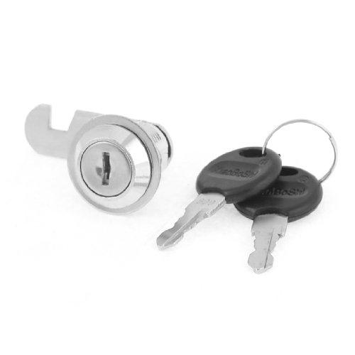 17mm Gewinde Flache Schlüssel Runde Kopf Cam Lock Camlock für Schrank W Schlüssel