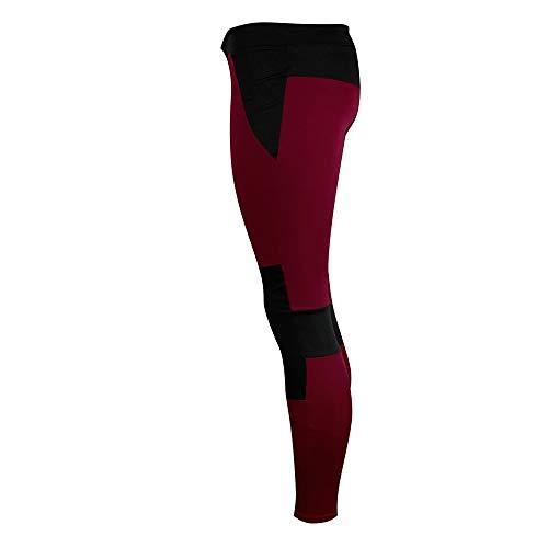 SCOSKT Frauen Sport Gym Yoga Laufen Fitness Leggings Hosen Athletic Training Cropped Hosen Hüfte Push Up Hose Cropped Athletic Hosen