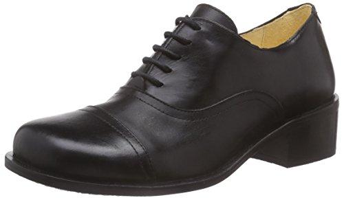 John W. ShoesKanda - Scarpe Oxford Donna , Nero (Nero (Negro)), 36