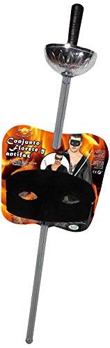Guirca Fiestas GUI16042 - Set: Maske und Florett, 63 cm