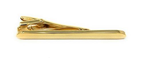Fermacravatta personalizzato placcato oro in una...