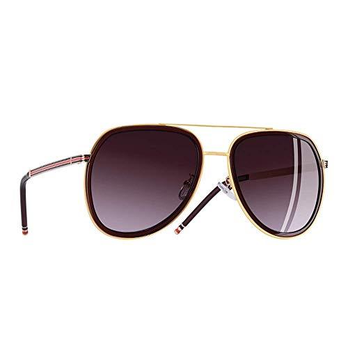 YSA Sonnenbrillen Polarized Aviator Sonnenbrillen Herren 'S and Women' S Sonnenbrillen Metallrahmen Ovale Gläser