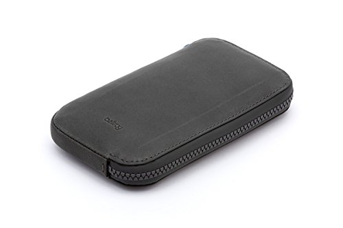 Bellroy Leder Geldbörse All Conditions Phone Pocket - Standard, Farbe: Charcoal Ereader-karten