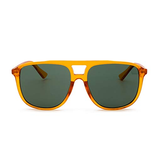Auifor ✿Polarisierte Sonnenbrille mit Farbverlauf für Frauen Mann verspiegelte Linse Mode Goggle Eyewear