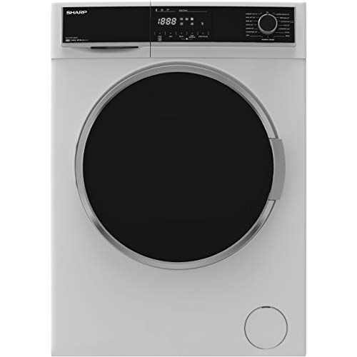 Sharp ES-HFH9148W3 A+++ Rated Freestanding Washing Machine - White