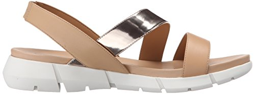 Calvin Klein Winny Flat Sandal Blush Nude/Soft Platinum