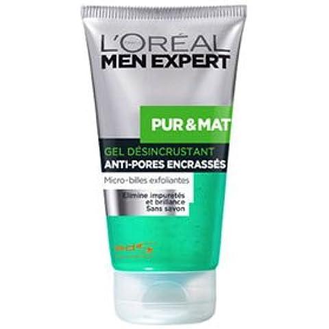L' oréal Paris Men Expert puro & opaco Gel disincrostante 150ml