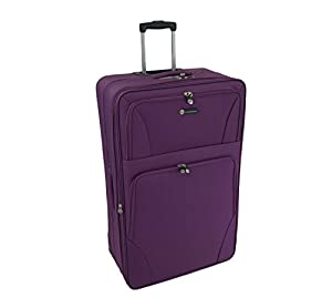 "Large 29"" Lightweight Luggage Wheeled Trolley Suitcase Case L Travel Bag"