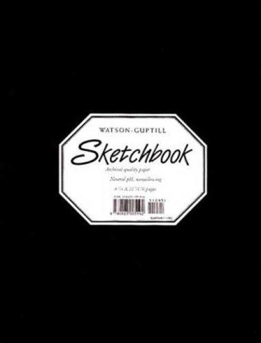 Large Sketchbook (Kivar, Black) (Watson-Guptill Sketchbooks) by Watson-Guptill (1996) Hardcover
