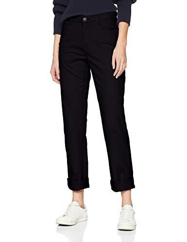 Brax Damen City Sport Premium Five Pocket Uni Hose, Schwarz (Perma Black 01), W36/L32(Herstellergröße: 46)
