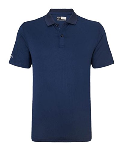 Callaway Men' s Classic Chev Solid polo Navy