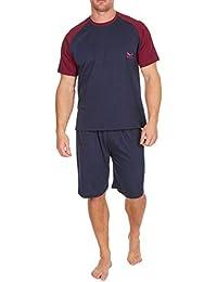 4850b8de9f Mens Pyjama Set Short Sleeve Top   Shorts