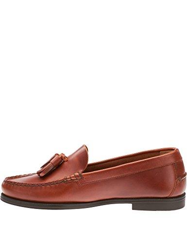 Sebago Women's Plaza Tassel Leather Shoes Brown in