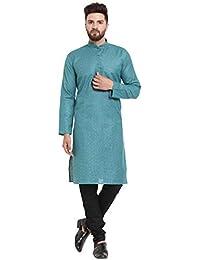 Jompers (Since 2003) Men's Kurta Pyjama Set Available in various colour options.