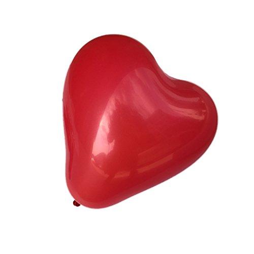 x100-Globos-Rojos-con-Forma-de-Corazon-Decoracion-Dia-de-San-Valentin-NUEVO
