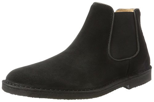 Selected Herren Shhroyce Chelsea Suede Boot Schwarz (Black)