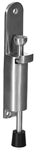 Preisvergleich Produktbild Stoppwerk Türfeststeller TF010 Edelstahl Türstopper Inkl. Befestigungsmaterial für die Tür ø3cm H:15,8cm Hub3,6cm