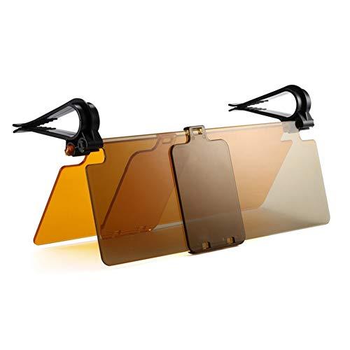 Auto Sonnenblendeverlängerung Auto Blendschutz Fahren HD-Visier Sonnenblendverlängerung Sun Blocker Anti-UV Blendschutz Universeller Tag- und Nachtsichtschutz